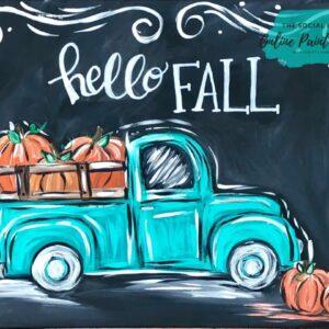 Hello Fall Truck