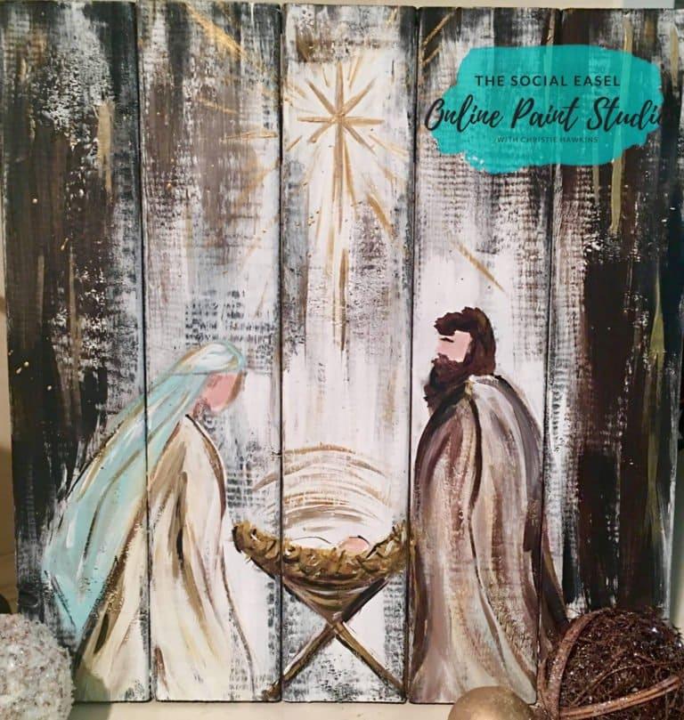 Christmas Painting Tutorials