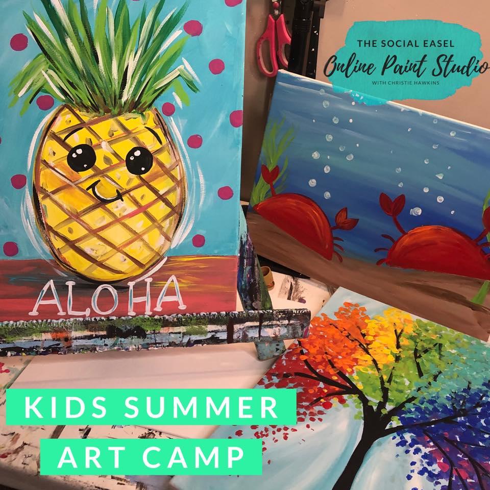 Kids Art Camp!