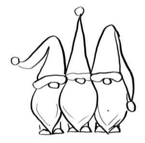 Gnomes Template